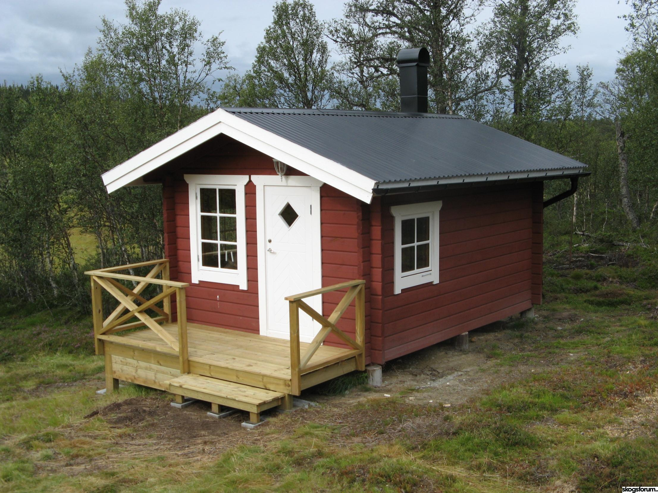 Timrad bastu 10m² | skogsforum.se