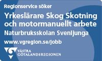 Jobbannons Västra Götalandsregionen